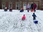 První sněhová nadílka