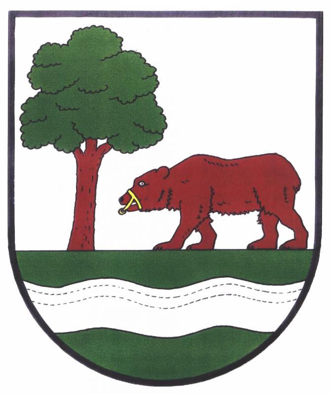 Obec Kunčice nad Labem znak
